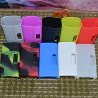 Wholesale Sigelei fuchai W Mod Silicone Case Silicon Cases Colorful Rubber Sleeve Skin For Sigelei w watt TC Box Mod Vape Mods DHL free