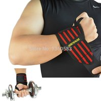Wholesale 10 Pair High quality Gym Weight lifting Training Gloves Bar Grip Barbell Straps Wraps Wrist Support Hand Protection colors