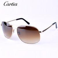 al por mayor gafas de sol de conducción hombre-Gafas de sol clásicas 3387 de Carfia que conducen las gafas de sol al aire libre del deporte para los vidrios de sol del diseñador de las mujeres de los hombres Envío libre