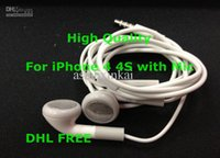 apple earbuds lot - Earphone for Iphone s gs Stereo Earbuds Headphone with MIC
