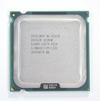 Wholesale Intel Xeon E5450 GHz M Processor close to LGA775 Core Quad Q9650 CPU works on LGA mainboard no need adapter