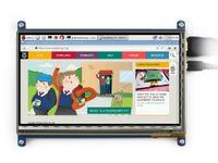 bb lcd - Raspberry Pi inch X600 HDMI InterfaceTouch Screen Raspberry Pi LCD Capacitive Display Support RPi Banana Pi Pro BB Black