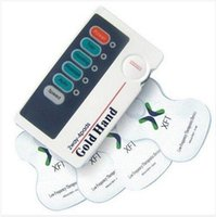 Cheap 2016 health EMS TENS dual channel massager Device Slimming Body Muscle Stimulator Electric Shock Vibrating Therapy Massage Machi