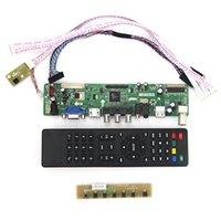 Wholesale T VST59 For B156XW02 V BT156GW01 v4 LCD LED Controller Driver Board TV HDMI VGA CVBS USB LVDS Reuse Laptop x768