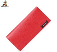 Wholesale Korean Couple Wallet - 2016Wallet female long section cowhide wallet long section of fresh couple Miss Han Ban purse simple fashion free shipping