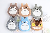 Wholesale My Neighbor Totoro CM cat bus cute furry little zero wallet bag coin bag