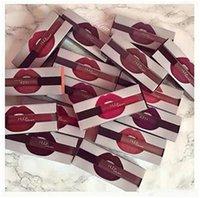 Wholesale 48pcs NEW Arrival Colors Huda Beauty Matte Liquid Lipstick Lip Gloss Make Up Waterproof Long Lasting Lipgloss Trophy Wife Bombshell