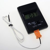 Wholesale TM C K Type Mini Digital Thermometer Industrial Temperature Detector C