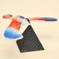 balancing bird toy - Classic Retro Toy Plastic Gravity Balance Eagle Tumbler Gravity Magic Balancing Bird Educational Toys Random Color