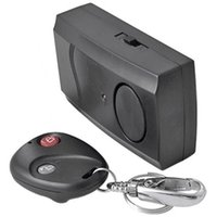 Wholesale PC Security Wireless Remote Control Vibration Motorcycle Car Detector Burglar Alarm