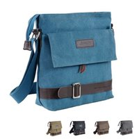 Wholesale 2016 New Coming Fashion Men Messenger Bag Casual Shoulder Bag High Quality Canvas Bag Men Bags