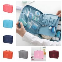 Wholesale Makeup Cosmetic Bags Cases bra underwear pocket monopoly Travel mate bag Organizer Portable Outdoor Hanging Wash Storage Pouch LJJG420
