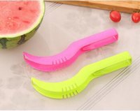 Wholesale Custom Design Print logo Watermelon Slicer Corer Fruit Knife Fastest Cutter Multi purpose and Ideal Smart Kitchen Gadget Perfect Gift
