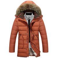 Wholesale 2016 Men Down Jackets With Hood Coat Men Winter Jacket Men s Male White Duck Down Jacket Coat Down Jacket Coats