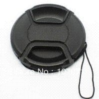 Wholesale mm Center Pinch Lens Cap Cover for Canon Nikon Sony pentax front cap