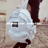 Wholesale Korea ulzzang cowboy backpack fashion school bag denim retro style pc