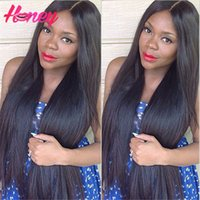 Wholesale Straight Full Lace Wig Human Hair Lace Front Wig A Unprocessed Brazilian Hair Wigs Silky Straight Glueless Lace Wigs inch inch