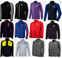 barcelona team - Mixed order PSG Arsenal Juventus Barcelona new so team survetement jerseys winter jacket High quality