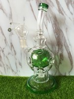 Wholesale Newest Glass Bongs Oil Rigs Glass Design feb egg combo of ball rig with mm joint
