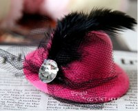 По уходу за шерстью принадлежности Цены-2016 г. клипы Pet Hat Собака волос принцессы Собака Шпилька Pet Принадлежности для груминга Принадлежности для зажима волос 50pcs / много