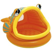 Wholesale Intex Lazy Fish Baby Toddler UV Sun Shade Childrens Kids Canopy Paddling Pool