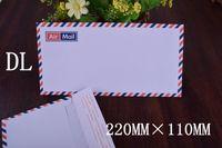 airmail paper - 300pcs DL Envelopes for airmail shipping mm x110 mm Self Seal envelopes shipping paper bag mailer bags