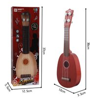 Wholesale Children s toys simulation mini instrument guitars early childhood educational toys Can play baby toys
