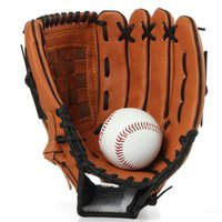 baseball glove material - new special offer freeshipping glove beisebol baseball gloves high quality material general male mittens batting gloves baseball