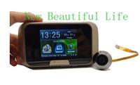 Wholesale Household Electronic Doorbell quot TFT Display CMOS Sensor Door Viewers Video Recorder Digital Peephole Viewer