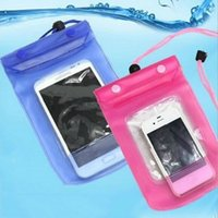 Wholesale Waterproof Phone case underwater photograph diving Pouch Dry bag for iphone7 Samsung Note4 Note3 S6 S5 S4