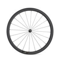 Wholesale roue carbone mm a pneu roue carbone mm tubular wheelset C carbon wheels clincher tubular with Novatec A271 SB Hubs