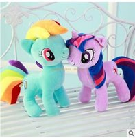 bao toy car - cartoon rainbow pony bao li doll toys children s gifts cushion pillow home car pillow cushion for leaning on