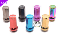 Wholesale Neo Chrome Wheel Lock Nut Car Wheel Locking Nut Rainbow Universal Wheel Lug Nuts have stock ready to ship