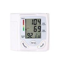 Wholesale Automatic Digital Wrist Cuff Blood Pressure Monitor Arm Meter Pulse Sphygmomanometer Heart Beat Meter LCD Display