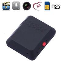 Wholesale 1PC Mini GPS locator x009 spy camera Voice Callback remote tracker anti lost video recorder listen Tracking Device mini Monitor with SMS SOS