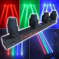 4Heads 12w RGBW 4in1 a mené la lumière mobile de faisceau de tête 9 / 13CH 1020mm 120w AC110v-240v une garantie d'année
