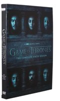 Wholesale New hot Game of thrones season6 whole full Set Version Complete series DVD Boxset New free DHL