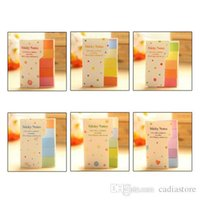 Wholesale 1pc Cute Rainbow Sticker Paste Bookmark Marker Flags Index Tab Sticky Notes E00408 SPDH