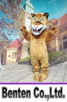 best japanese cartoon - VO139 Custom Cougar Mascot Costume Halloween Prop Adult Best Animal Cartoon Costumes Carnival Party Halloween Outfits Event Performance