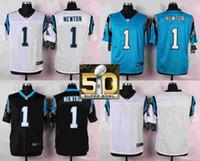 Wholesale Carolina Pants Cam Newton Luke Kuechly Kelvin Benjamin Men Womens Kids Blank White Blue Black with Super Bowl Patch Jerseys