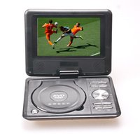 Wholesale 7 inch LCD Screen Portable DVD EVD Player with CD MP3 USB SD MMC GAME