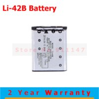 batery pack - High Quality mAh Digital Camera Battery batery batteries for Olympus Li B Li B Li40B Li42B Rechargeable Batteries pack
