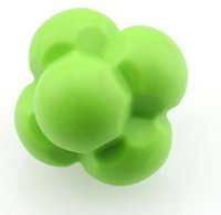 Wholesale Brand crossfit training ball Rubber fitness ball exercise muscle relaxation equipment tennis reaction ball sensitive ball