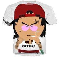 ak shirt - New Fashion hip hop tops tshirts AK Yung Mob OTWG d t shirt Women men summer casual tee shirts harajuku tees costume