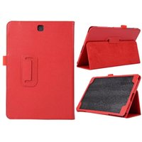 al shell - Hot selling New Luxury Leather Stand Case Cover For Samsung Galaxy Tab A AL inch T555 pc