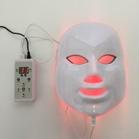 Wholesale Photodynamic LED Facial Mask PDT Skin Rejuvenation mask Acne Remover led face beauty mask colors led light