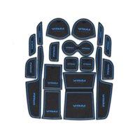 Wholesale Auto Accessories Non slip Interior Door Pad Cup Mat Door Gate Slot Mat For Suzuki Vitara