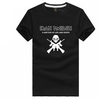 animal steve - Iron Maiden t shirt short sleeve band t shirt rock heavy metal music tee shirt Steve Harris tshirt