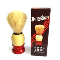 Wholesale NEW Man Face Cleaning Brush Handle Superfine Pure Blaireau Shaving Beard Brush Shaving Brush Male Cleaning Tool