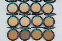 Wholesale 1PCs Brand Makeup Studio Fix Powder cake Plus Foundation compact foundat face powder puffs g